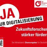 Forderungen des Mittelstandes 6: Ja zur Digitalisierung