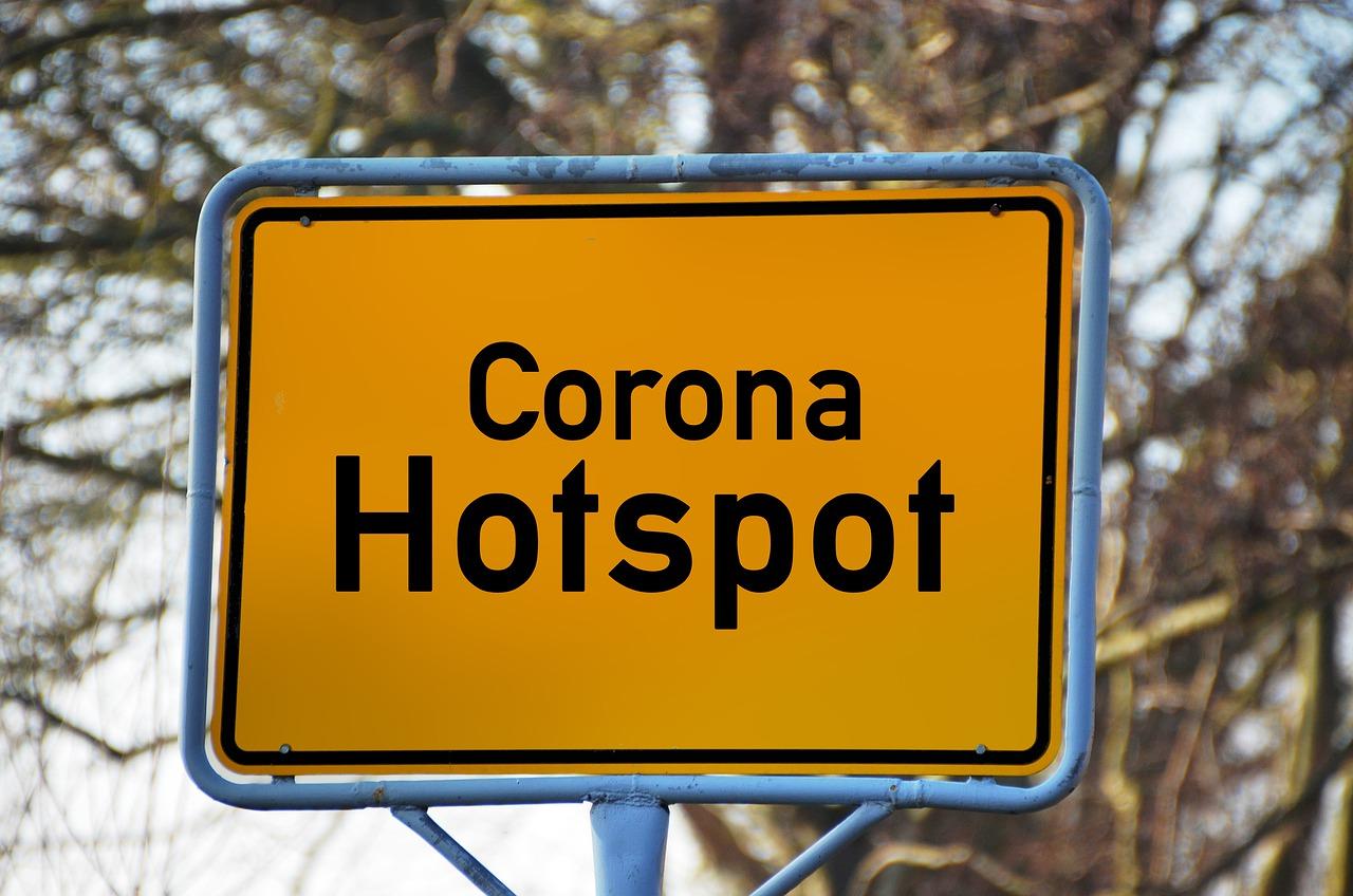 Neue Auflagen Corona